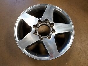 16 19 Chevy Gmc 2500 3500 Hd 20 Factory Polished Charcoal Oem Wheel 5805 New