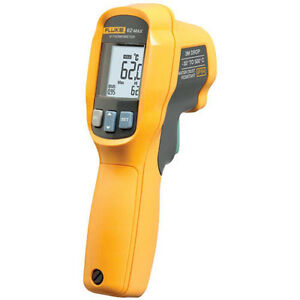 Fluke 62 Max Infrared Thermometer 30 To 500 C 10 1 Spot Size Ratio