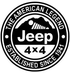 Jeep Decal Oscar Mike Us Wrangler Star Custom Stickers Decals 9 Colors