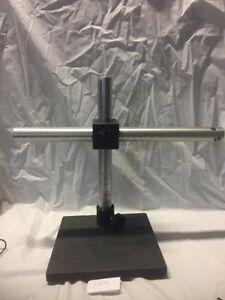 Boom Stand Base Adapter Assembly For Leica Gz4 Microscope