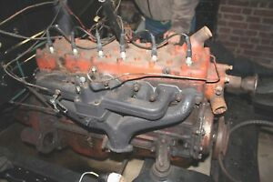 1951 Ford 226 Ci Flathead Engine Includes Starter Gen Carb Transmission