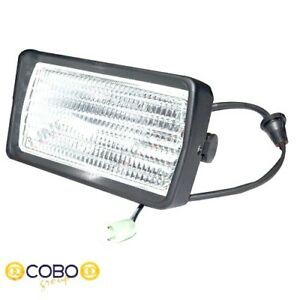 Cab Roof Work Light r h Fits Ford Tw15 Tw25 Tw35 8630 8730 8830 Tractors