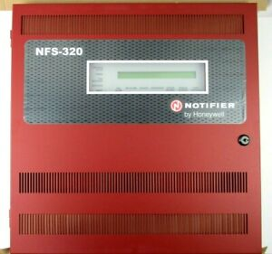 new Notifier Nfs 320r Intelligent Fire Alarm Panel Red