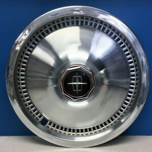 One 1975 1981 Lincoln Town Car 738 15 Hubcap Wheel Cover Oem D5vy1130a