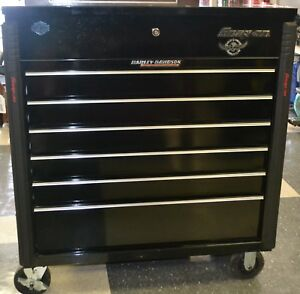 Snap On Harley Davidson Commemorative Tool Box Krsc46hpc High Gloss Black Pickup