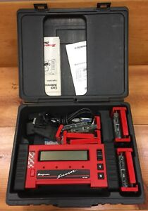 Snap On Mt2500 Code Scanner W Connectors Extras