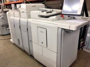 Canon Oce Varioprint 110 Copier With Booklet Maker Folder And Inserter