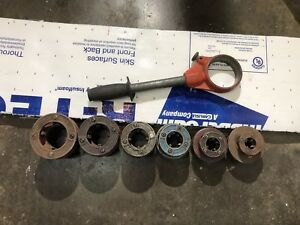 Ridgid 12r Pipe Threader Set 1 2 To 2 With Ratchet