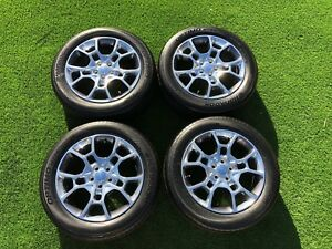 Dodge Charger Awd Oem 19 Wheels And Tires Set 2015 2016 2017 2018