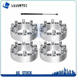 4x 2 Thick 8x6 5 Wheel Spacers 2 Pcs Front Hood Lift Struts For Ram 2500 3500