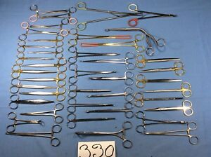 V mueller Jarit Codman Ethicon Surgical Lot Of 40 Instruments 330
