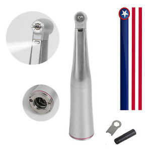 Us Fiber Dental Led Handpiece 1 5 Increasing High Speed Contra Angle 4 Way Spray