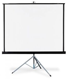 Quartet Portable Tripod Projection Screen 70 X 70 Inches High resolution