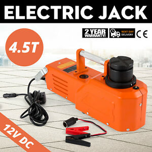 12v Hydraulic Floor Jack Electric Car Lift 9900lbs Adjustable Lifting Truck
