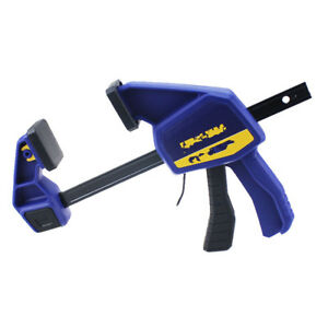 1pc Heavy Duty F Clamp With Plastic Handle Woodworking Hand Tool 6 15cm