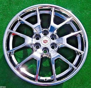 2019 Set 4 New Cadillac Xt5 Chrome 20 Inch Exact Oem Factory Gm Spec Wheels Srx