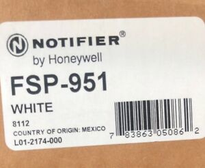 Notifier Fsp 951 white new