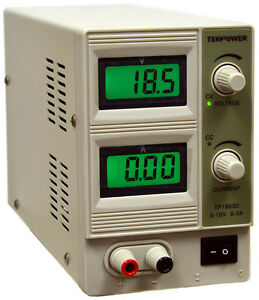 Tekpower Hy1803d Variable Dc Power Supply 0 18v 0 3a