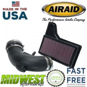 Airaid Cotton Junior Cold Air Intake System Fits 2018 Ford Mustang Gt 5 0l V8c