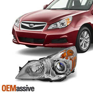 Fit 10 12 Subaru Legacy Outback Headlight Front Lamp Driver Side Replacement