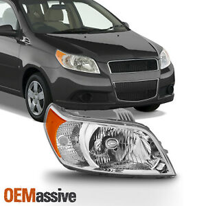 Fits 2009 2010 2011 Chevy Aveo5 Aveo 5 Passenger Headlight Headlamp Right