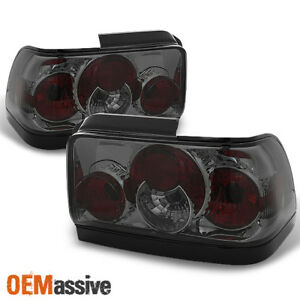 Fits 93 97 Toyota Corolla Dx Le Smoked Altezza Tail Lights Lamps Pair Left right