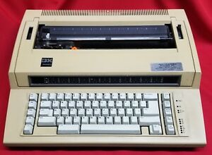 Ibm Electric Actionwriter 1 Electronic Typewriter