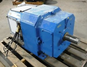 75 Hp Dc Reliance Electric Motor 1150 Rpm 405at Frame Dpfv 500 V