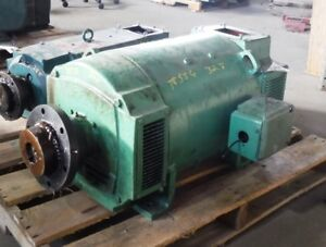 50 Hp Dc General Electric Motor 1750 Rpm 328at Frame Dpfv 500 V