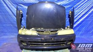 94 01 Honda Acura Integra Db8 Sir G Blue Hid Front Nose Hid Conversion Jdm B18c