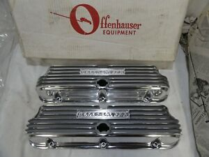 Offenhauser Ford Valve Covers Sbf 5487 Offy Small Block Ford 302
