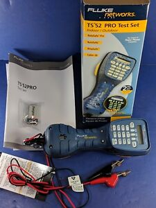 New Fluke Ts52 Pro Test Set Abn Original Box