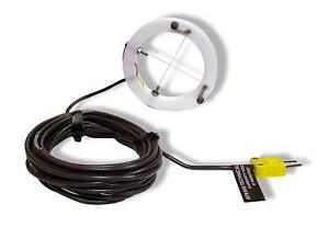 Cooper atkins 50008 k Screen Print Type K Surface Thermocouple Probe 40 To 40