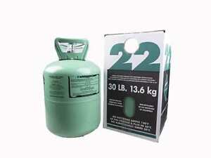 30 Lb new R 22 Virgin Refrigerant Factory Sealed Free Same Day Shipping