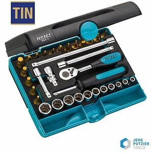Hazet 854 1 1 4 Metric Socket Set With Ratchet Extensions Sockets Germany