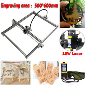 Mini Cnc 5060 Engraving Router Diy Machine Wood Milling Router 15w Laser Module