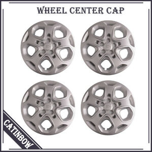 For 2010 2011 2012 Ford Fusion 17 Wheel Covers Rim Hub Caps 5 Spoke 4pcs pack