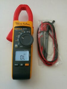 Fluke 376 Fc True Rms Ac Dc Clamp Meter Multimeter New Test Lead Probes Nice