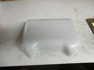 Case Dc Tractor Battery Cover Fiberglass Aftermarket