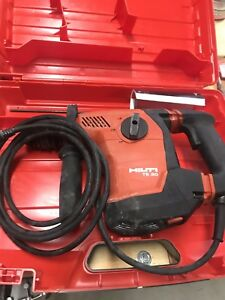 Hilti Te 30 Avr Corded Hammer Drill With Hard Case