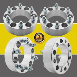 4 2 50mm 6x139 7 6x5 5 Wheel Spacers 12x1 25 Fit 2004 2014 Nissan Titan