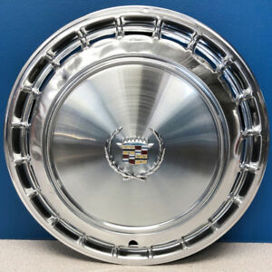 One 1987 1988 Cadillac Deville Fleetwood 2051 14 Hubcap Wheel Cover 25533212