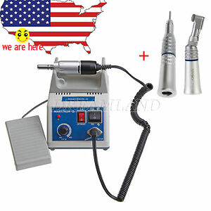 Us Dental Lab Marathon Micromotor N3 Straight Contra Angle Handpiece Kit Z3 h