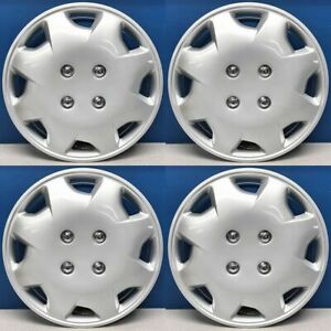 Fits 1998 2002 Honda Accord Wchc 55045 15sl 15 Snap On Hubcaps Hub Caps Set 4