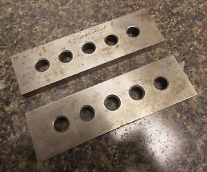 Machinist Tools Pair Of 2 Parallels 6 X 1 3 4 X 1 2 Nice
