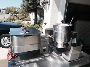 Tilt Skillet Jacketed Kettle