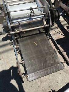 Corn Tortilla Sheeter Head