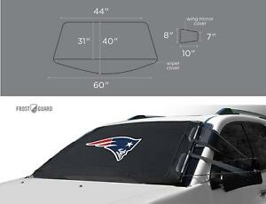 Frostguard Nfl Premium Winter Windshield Cover T Snow Frost And Ice Cold Weather
