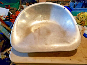 Rare Tractor Headed Seat Pan Ford 8n Seat Ihc Oliver Tractor Warm Seat Iowa