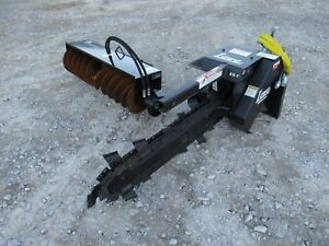 Toro Dingo Lowe Trencher And Trench Coverup Filler Attachment Combo Ship 199